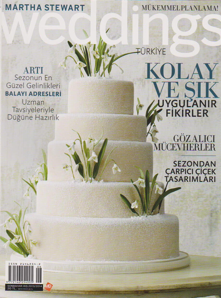 melisa erkol martha stewart weddings dergi